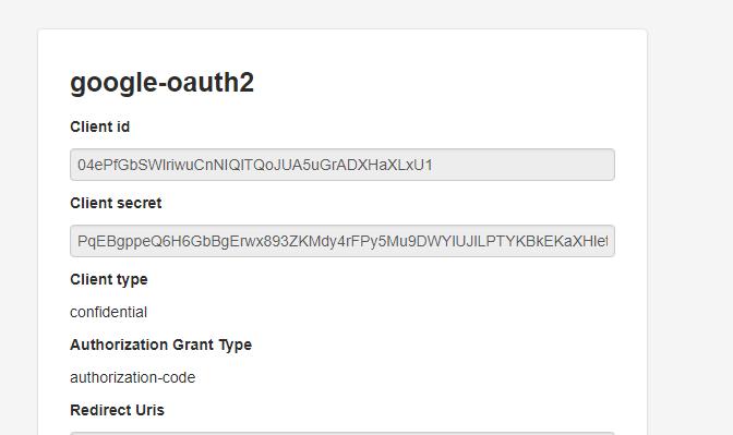 django-rest-framework-social-oauth2 - Bountysource