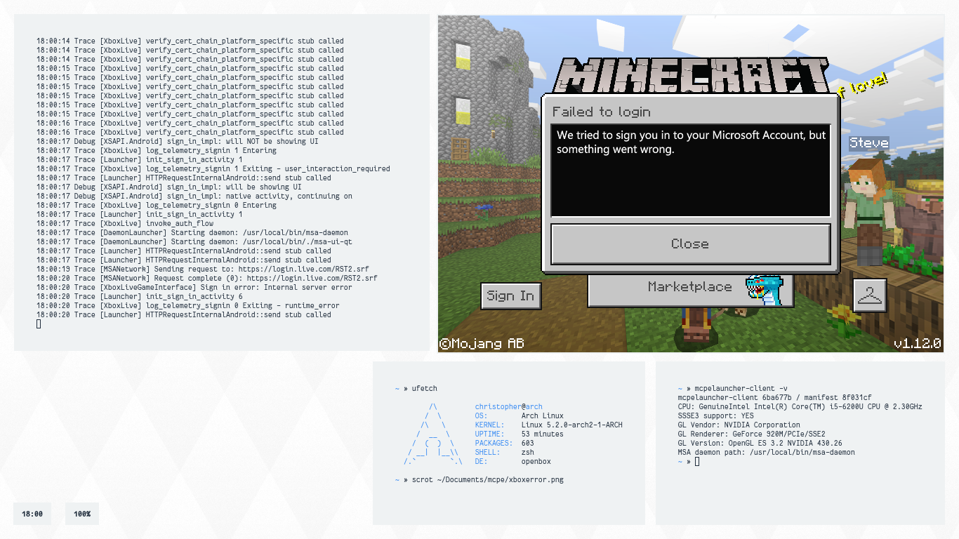 minecraft-linux - Bountysource