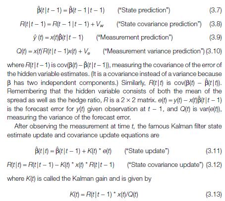 GitHub - tgaye/Kalman_Filter_w_Stocks: Uses Kalman Filter