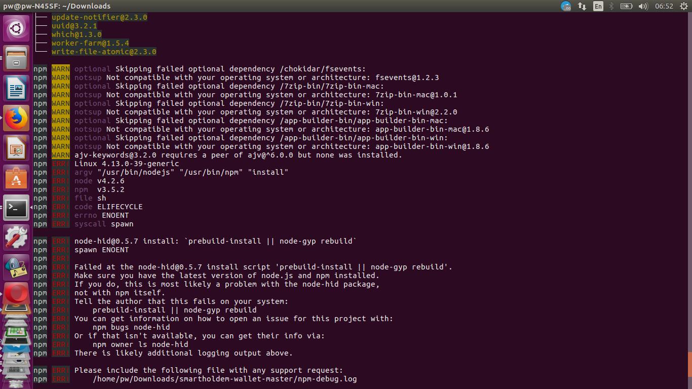 install nodejs ubuntu github