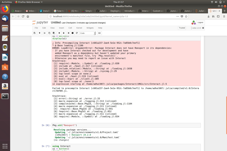Julia 1 0 notebook compilation error · Issue #256