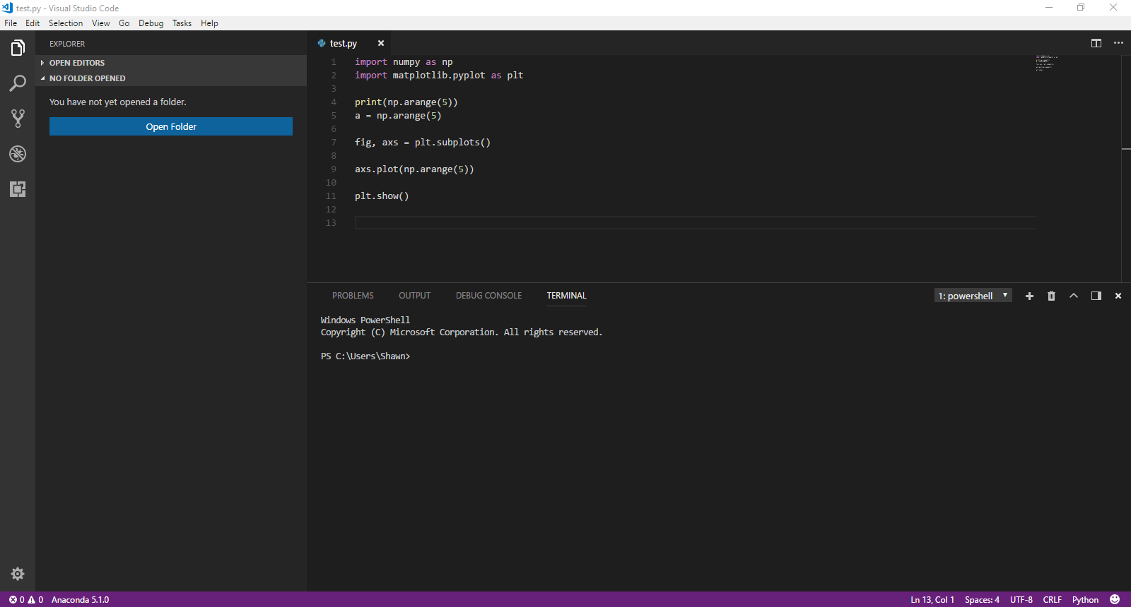 Cannot load Python REPL in VS Code · Issue #828 · microsoft