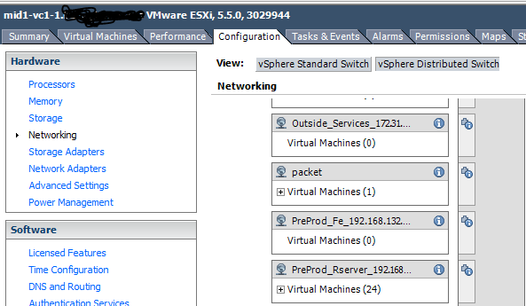 VMware: vmware_guest fails to create VM when the network is