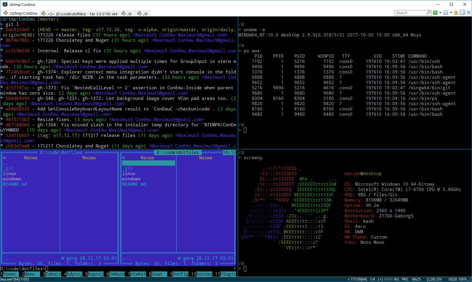 Windows Dotfiles