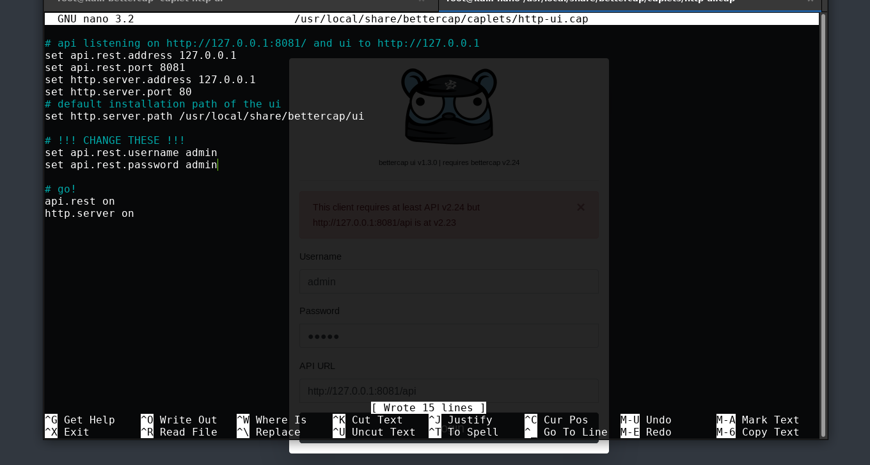 Install Proxy Cap
