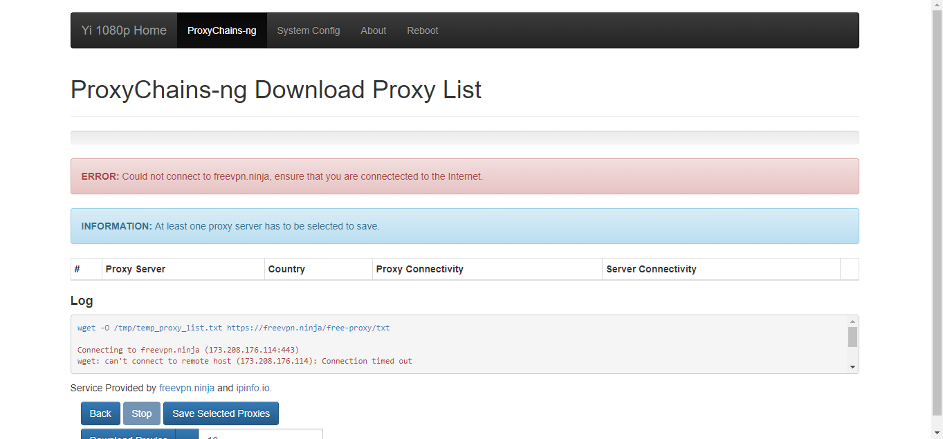 ProxyChains-ng Download Proxy List · Issue #106 · shadow-1/yi-hack