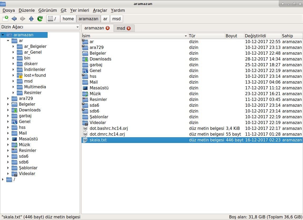 pcmanfm-qt: Drap-and-drop doesn't work between directory