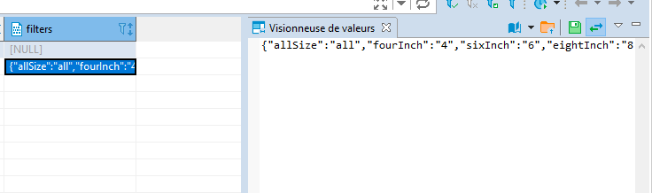 Add Json Viewer To Value Issue 5238 Dbeaver