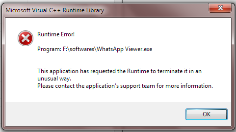 fails to open crypt12 files by throwing runtime error