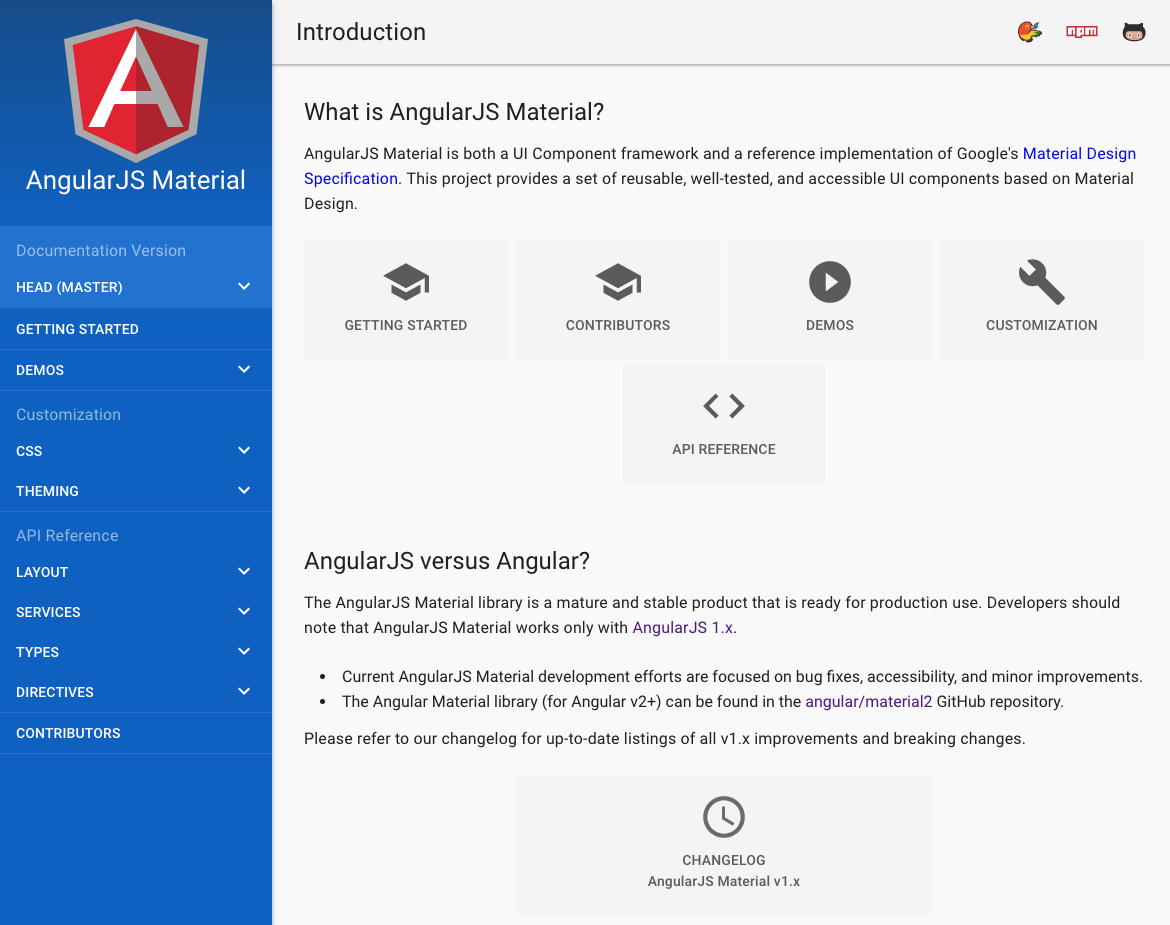 GitHub - angular/material: Material design for AngularJS