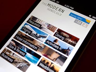 Modern Honolulu iPhone概念化产品