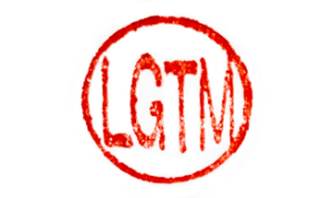 LGTM stamp from a Japanese personal seal