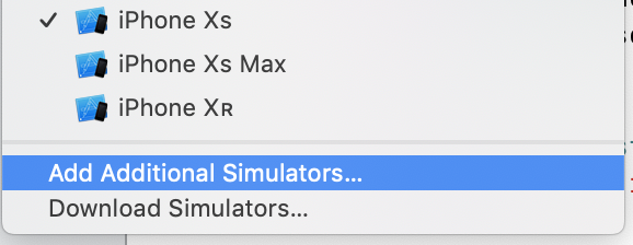 Unable to find iOS Simulators (Post Xcode 10 2 install) · Issue