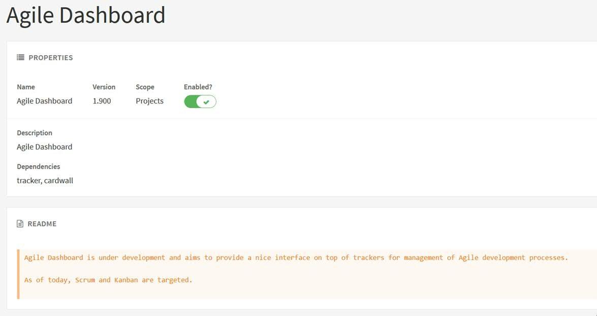 Agile Dashboard is not working  · Issue #64 · Enalean/docker-tuleap