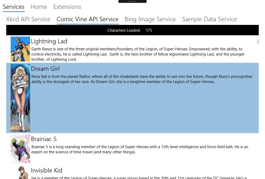 ComicVine API Service