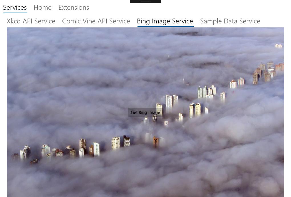 Bing ImageService