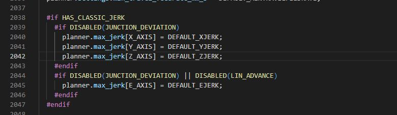 Error copiling with JUNCTION_DEVIATION enabled · Issue