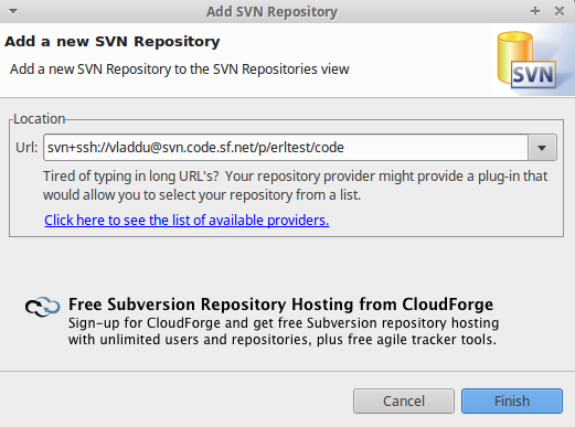SVN compare exception with * erl files comparison · Issue