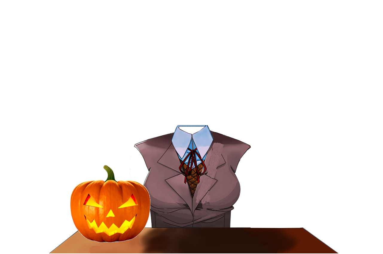 Suggestion Headless Greeting For Halloween Horror Mode Issue