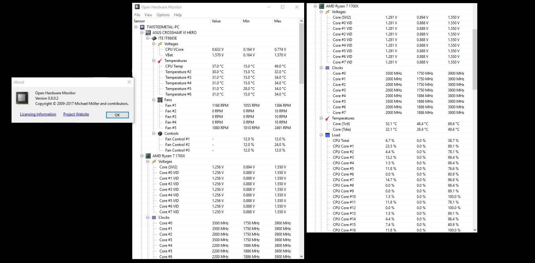 Added AMD 17h (Ryzen) Support by Kraust · Pull Request #970