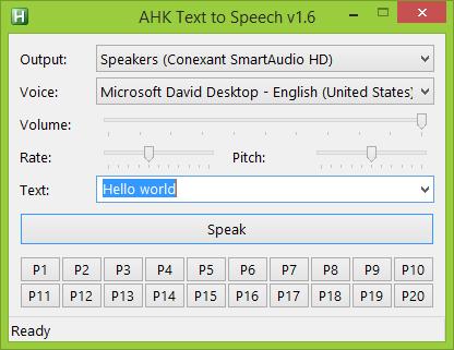 GitHub - altbdoor/ahk-tts: Text-to-speech (TTS) with AHK