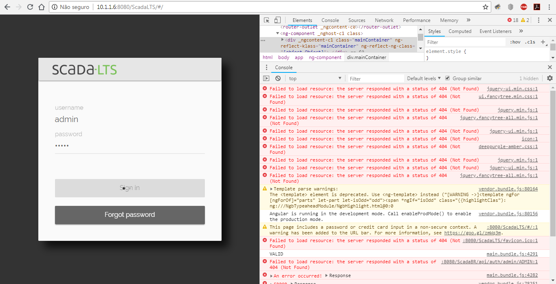 Scada LTS no login · Issue #637 · SCADA-LTS/Scada-LTS · GitHub