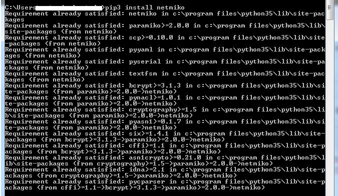 No module named netmiko · Issue #682 · ktbyers/netmiko · GitHub