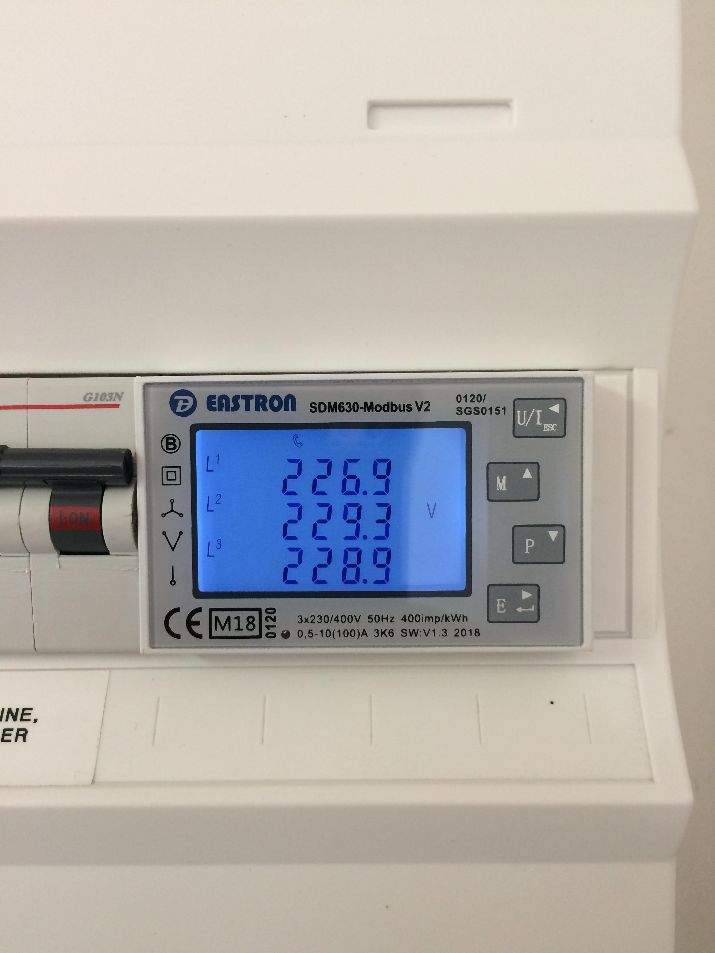 Request for adding SDM630-Modbus 100A (3phase of SDM120