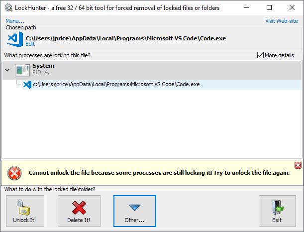 Update Failure · Issue #58018 · microsoft/vscode · GitHub