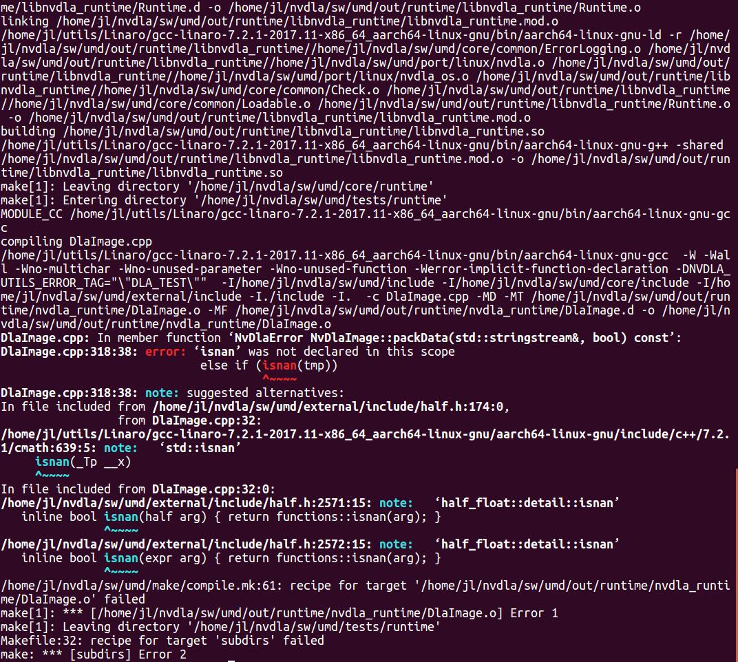 CROSS COMPILE · Issue 20 · nvdla/sw · GitHub