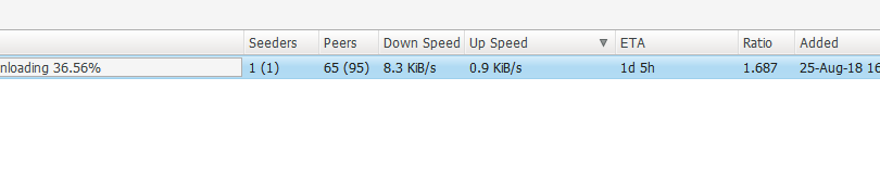 libtorrent 1 1 {7,8,9} + Deluge 1 3 15, connecting only to