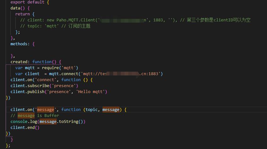 MQTT js - Bountysource