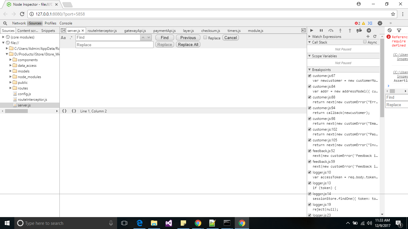 UI messed up · Issue #1028 · node-inspector/node-inspector