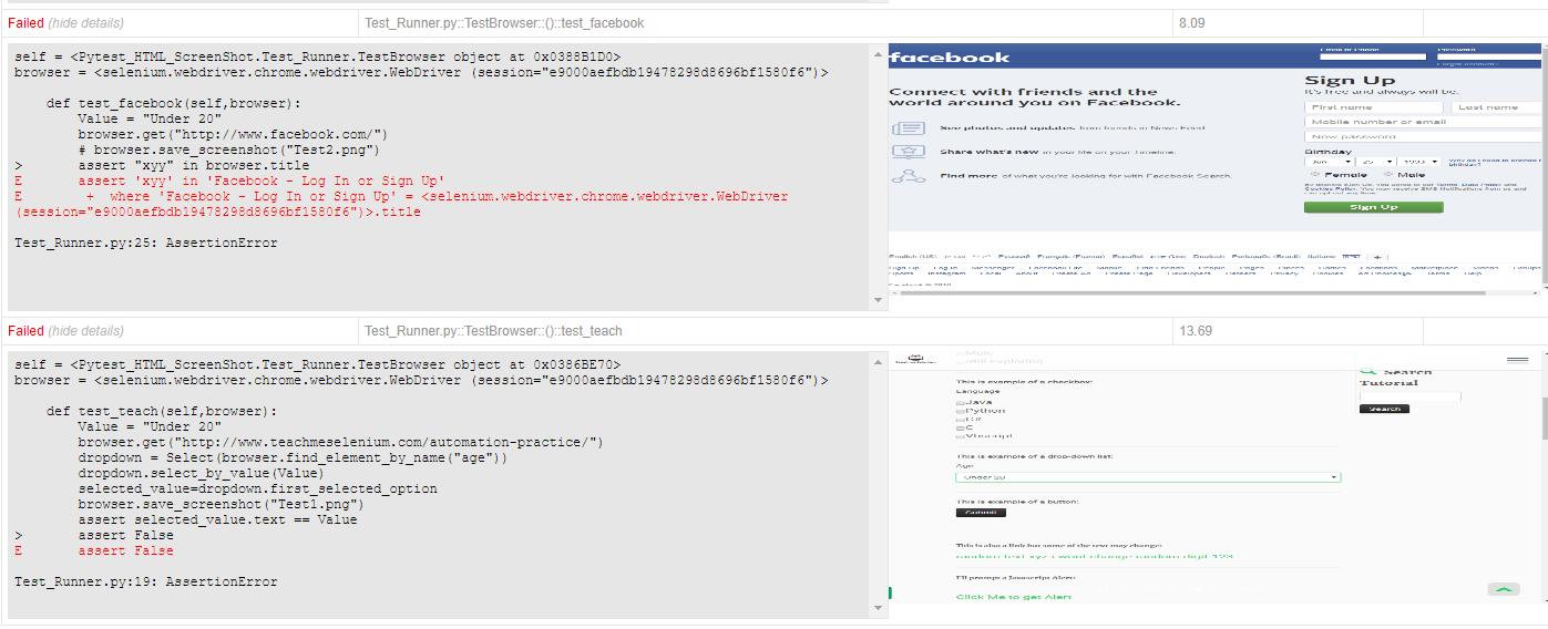 GitHub - rafitur2/Python-Pytest-Selenium-HTML-report-with