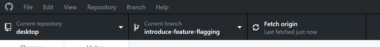 git fetch remote branch