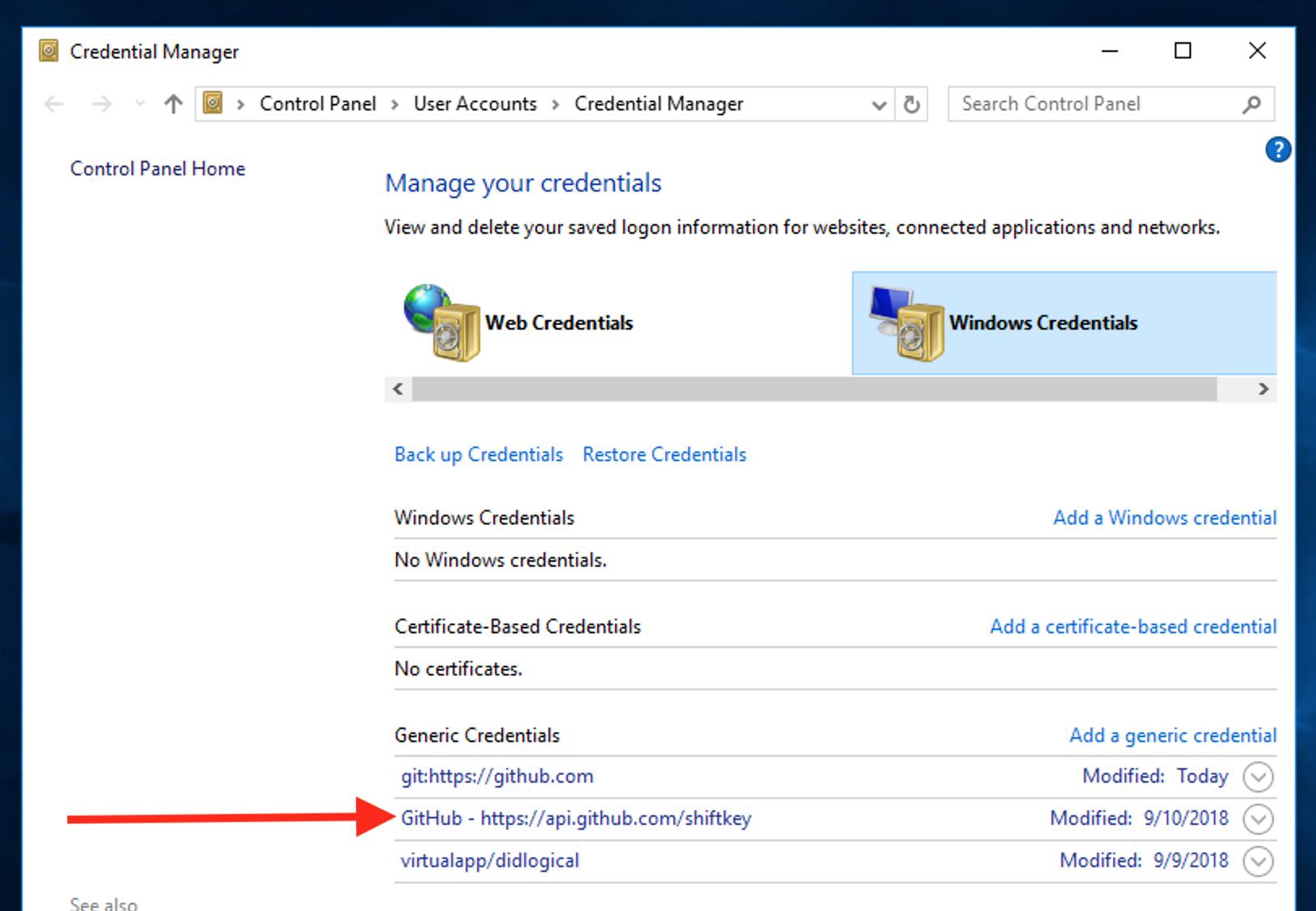 Github Desktop version 1 0 12 Authentication Failed during