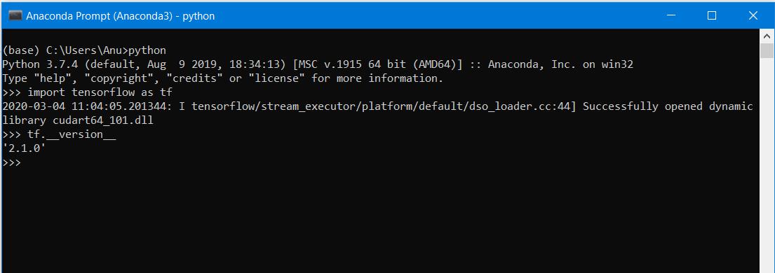Diagram Tensorflow Installation Problem With Pip In Windows 10