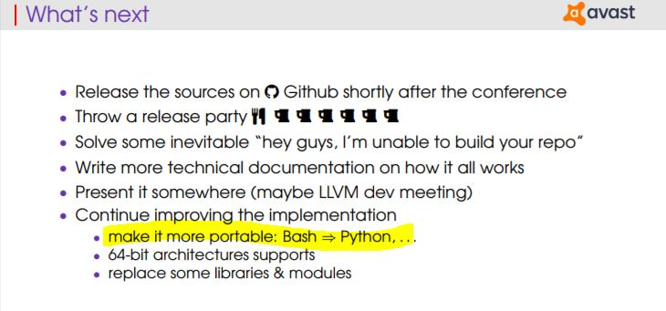 Converting the complete environment from Bash to Python