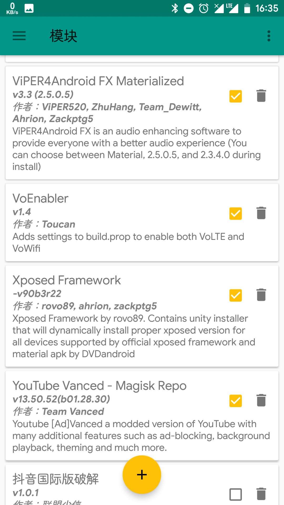 一加5 lineageOS android8 1 激活后仍然显示未激活· Issue #52