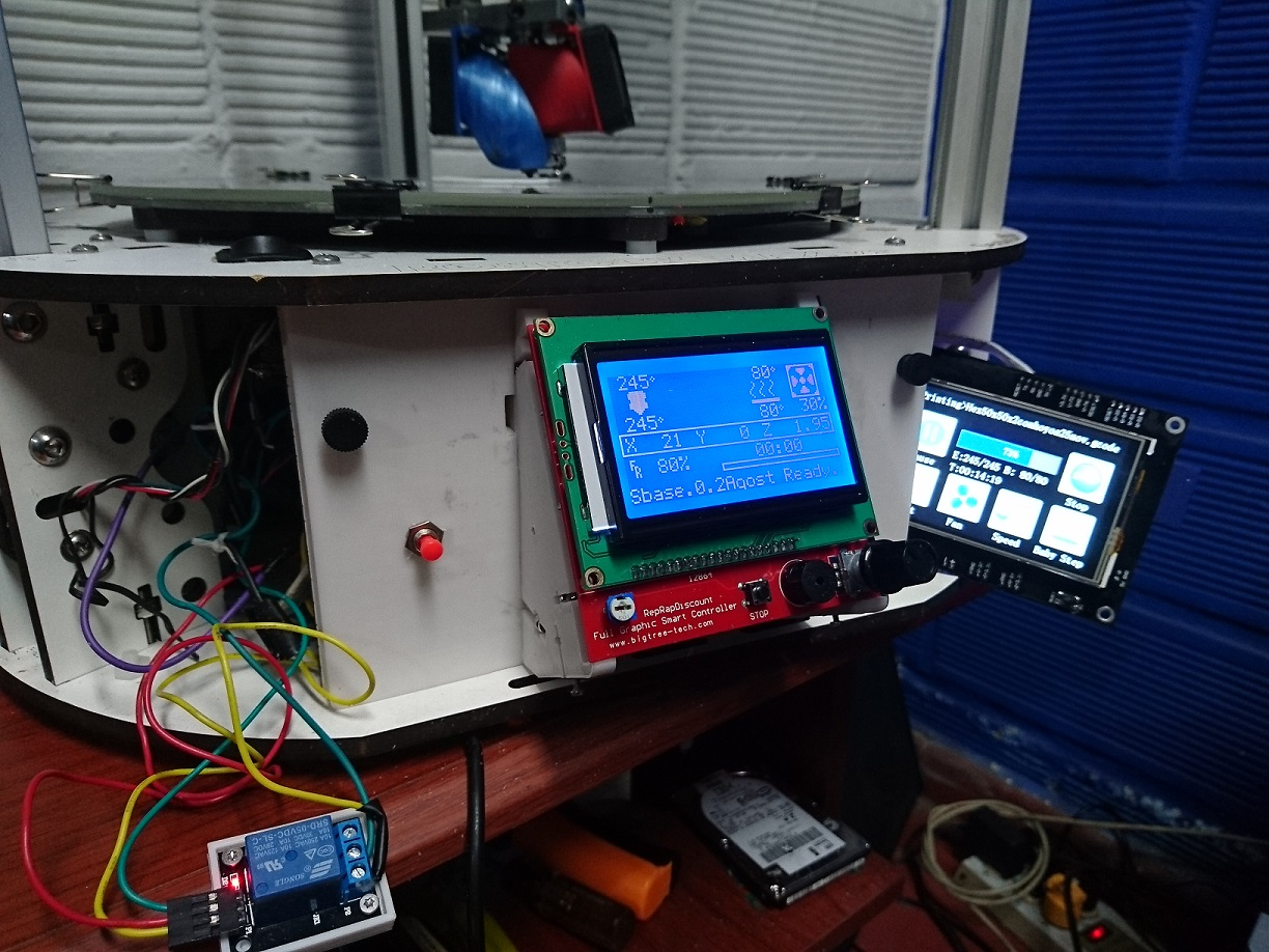MKS SBASE setup with LCD 12864 - TFT35 - PS_DEFAULT_ON