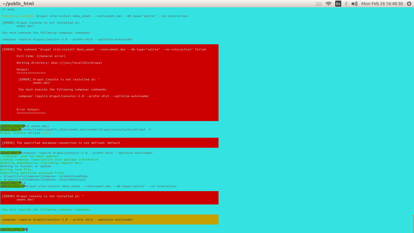 drupal-console-not-installed-umami