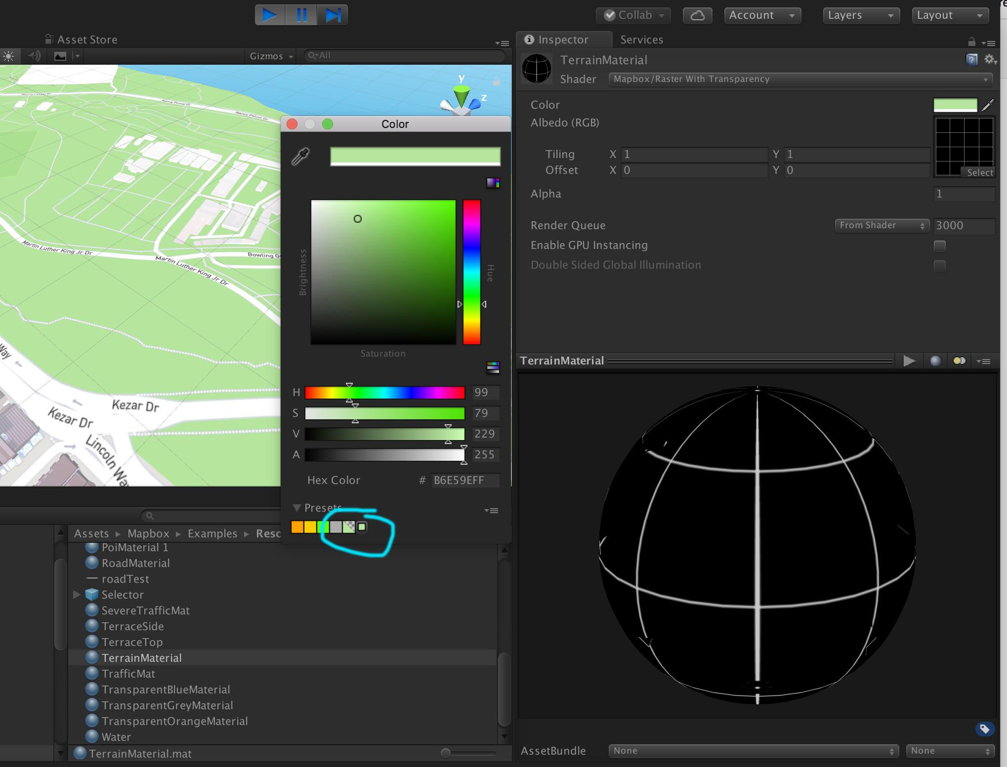 Transparent background surface · Issue #596 · mapbox/mapbox