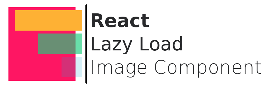 React Lazy Load Image Component Logo