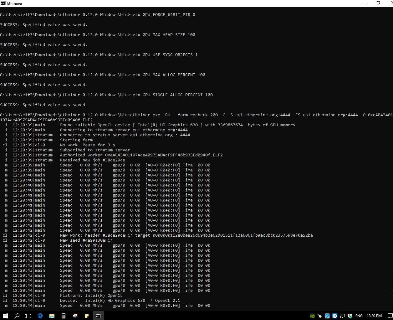 Please Help: Miner see only onboard GPU · Issue #772