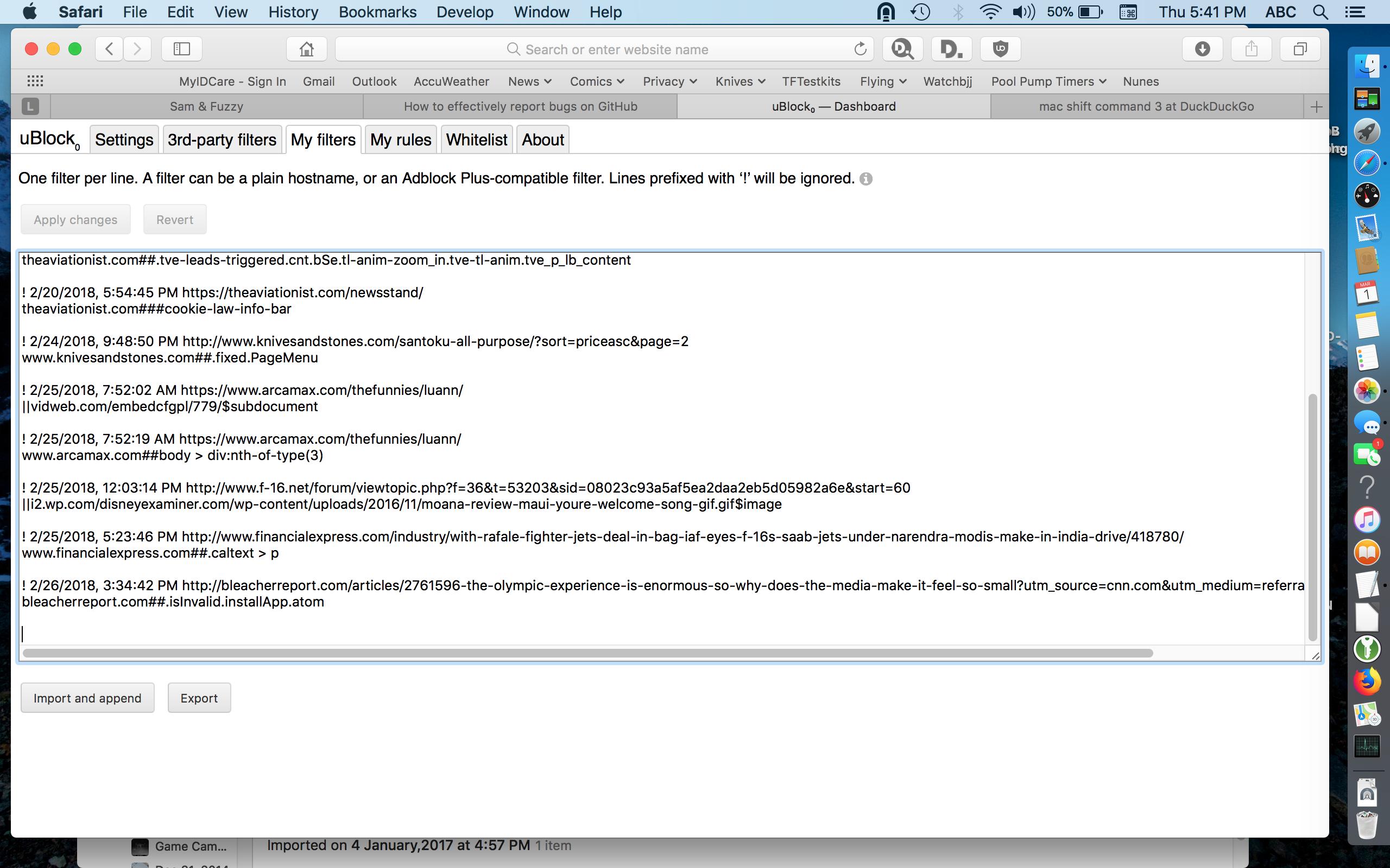 uBlock Origin Randomly Stops Functioning · Issue #100 · el1t