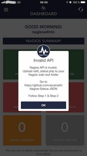 iOs app says