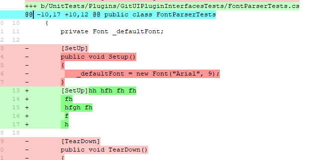Stage hunk feature - Similar to sourcetree · Issue #5896