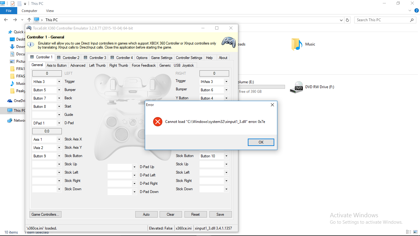 xinput1_3.dll download windows 10 64 bit
