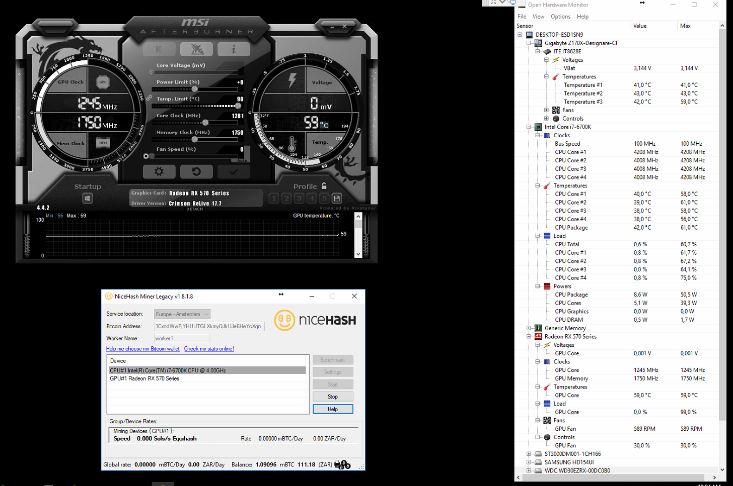 Nice Hash With AMD RX570 keeps crashing · Issue #983 · nicehash