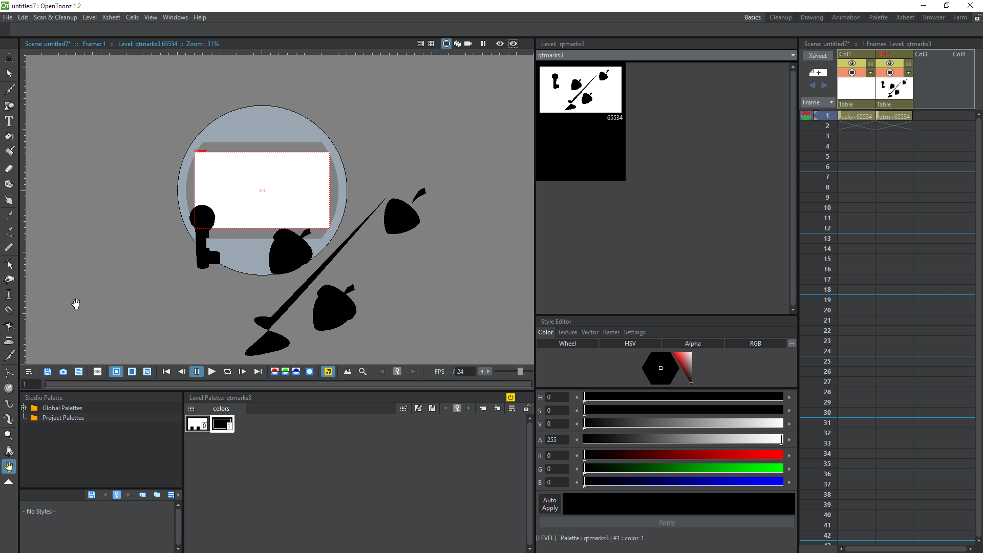 imported  svg files loses colors · Issue #1795 · opentoonz/opentoonz